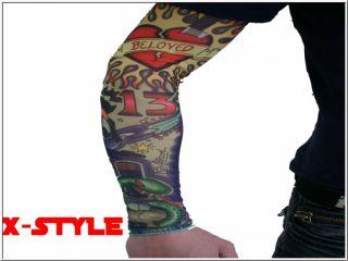 Tattoo Armstulpen X Style Punk Rave Emo Rock Styla