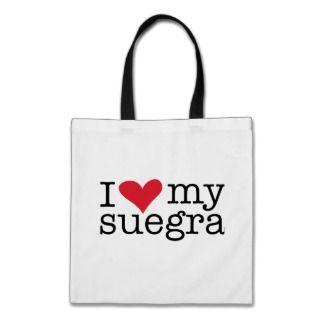 Love My Suegra (Mother In Law) bags by QuePartyTanFancy