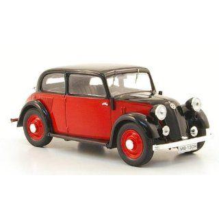 Mercedes 130 (W23), rot/schwarz, 1934, Modellauto, Fertigmodell, IXO 1