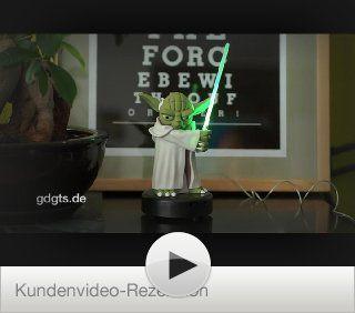 Star Wars   JOY TOY 21398 Yoda Plastikfigur mit Lichtschwert   wenn