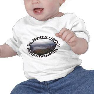 St. Johns Harbor, Newfoundland Baby Clothes Tee Shirt
