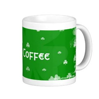 Irish Coffee Shamrock Mug