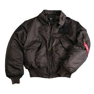 Original Alpha Industries CWU Big A Bomberjacke neu