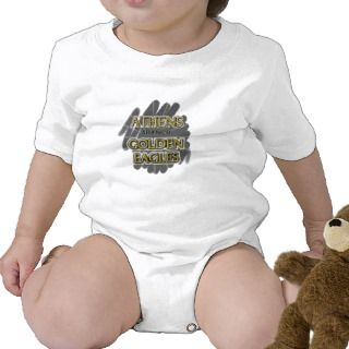 Athens High School Golden Eagles   Athens, AL Baby Bodysuit