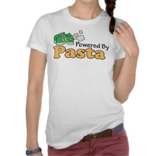 Powered By Pasta Runner Tank Top