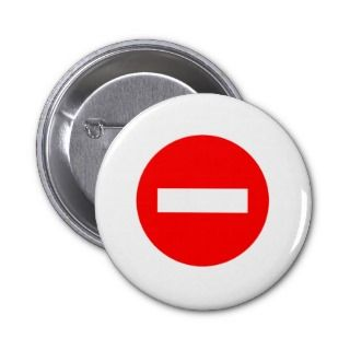STOP Sign Products & Designs Pin
