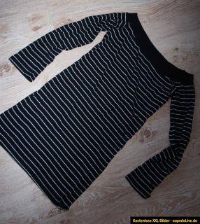 ZARA MOTEL T Shirt Long Shirt Silber Black 2013 ZEBRA M 38 40