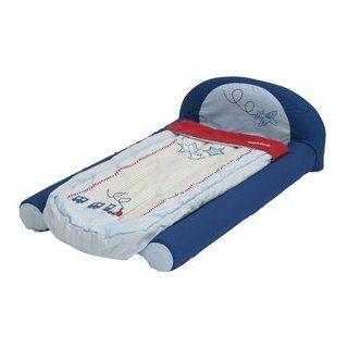Childrens Boys Blue aufblasbare Reisebett mit Pumpe (Schlafsack) Mein