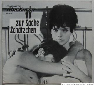 Zur Sache, Schätzchen (1968) MFK 236 Uschi Glas Werner Enke Henry van