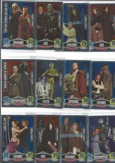 Force Attax Karten Movie Cards Zusatz Power Aussuchen 213 224