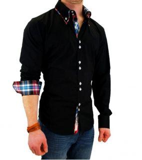 Carisma Kontrast Slim Fit Hemd Shirt S XXL