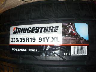 Vier Sommerreifen 235/35 R19 91Y XL Bridgestone Potenza S001 Ford