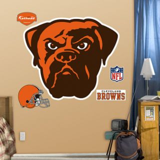 Cleveland Browns Logo Wall Decal