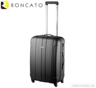 RONCATO (S) Bordgepäck Koffer Trolley, Pink/Grün, Schloss Hatschale