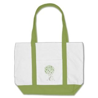 Heart Tree   I love trees! Canvas Bag