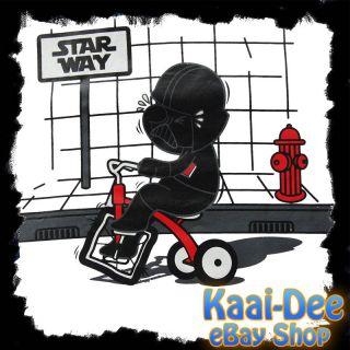 lustiges DARTH VADER Kindergarten Trike T SHIRT Star Wars fun (S) (M