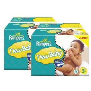 148 Stück PAMPERS, New Baby Jumbo Pack   New Born, Gr 3, 4 7 kg