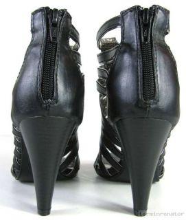 Sexy Damen Sandale High Heels Peeptoe Sandalette Schuhe