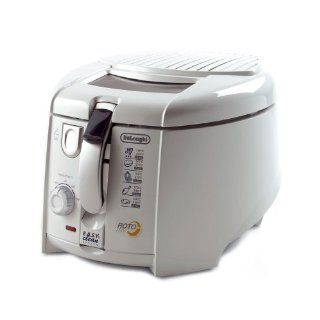 DeLonghi F 28311 W1 Ex1 Rotofritteuse mit Easy Clean System, 1800