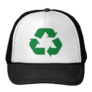 Recycle Ecology Products & Designs! Hat