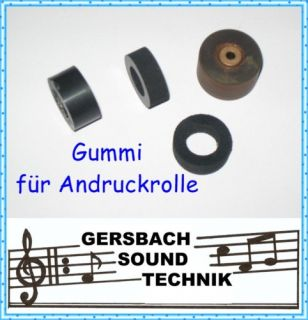 Andruckrolle Gummi Pinch roller Grundig TK 248 HiFi