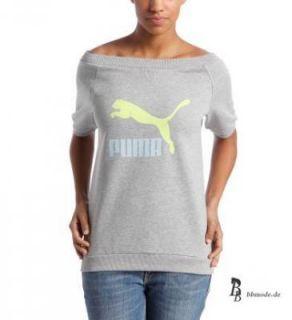 Puma Logo Sweatshirt Damen Shirt Lifestyle 559581 grau Sommer