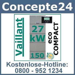 Vaillant ecoCompact VSC 246/3 5 27 370 Gas Brennwert Gastherme