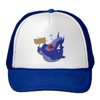 Hungry Blue Shark Hat