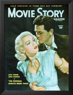 Lana Turner   Movie Story Magazine Cover 1940s Prints