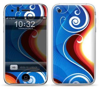 SCHUTZFOLIEN FÜR APPLE IPHONE 3 3G 3GS Skin Sticker Handy Folien