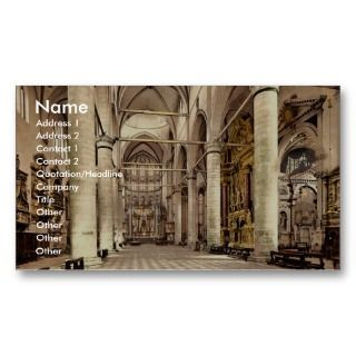 Interior of St. John and St. Pauls, Venice, Italy Business Card
