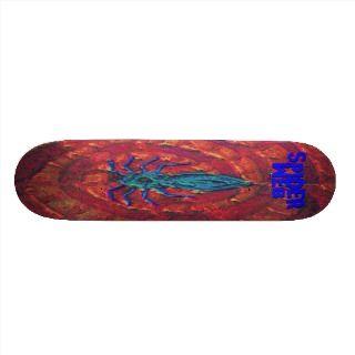 Spiderweb Skate Board Deck