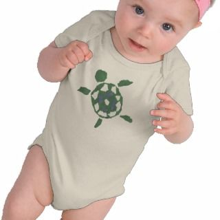 Sea Turtle Paper Collage T shirts
