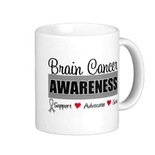 Brain Cancer Awareness & Advocacy Mugs