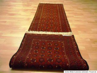 Antiker Afghan Buchara LÄUFER Ersari GEREINIGT Galerie TEPPICH Old