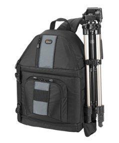 Lowepro SlingShot 302 AW SLR Kamerarucksack schwarz Kamera