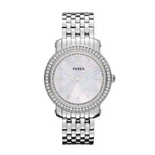 Fossil Damen Armbanduhr Analog Edelstahl ES3112 Uhren