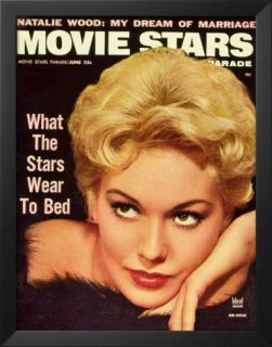 Kim Novak   Movie Stars Parade Magazine Cover 1950s Posters