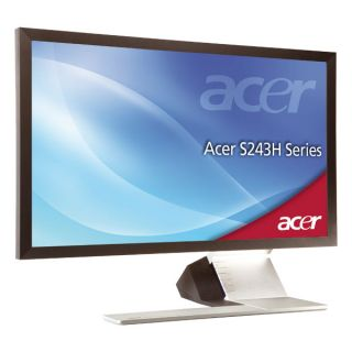 61 cm (24 Zoll) LED Display Full HD, 2x HDMI, VGA Kontrast 12.000.000
