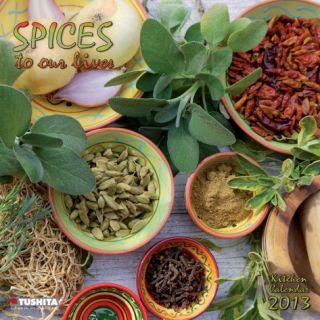 Herbs & Spices   2013 Wall Calendar Calendars