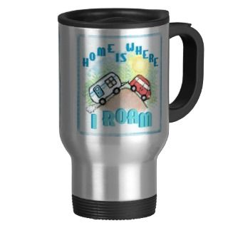 RV Camper Trailer Travel Mug