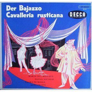Leoncavallo: Der Bajazzo / Mascagni: Cavalleria Rusticana