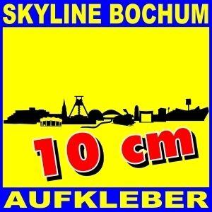 Aufkleber Bochum Skyline 10cm Autoaufkleber City