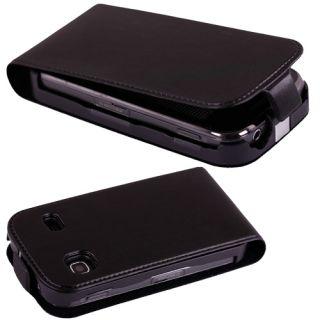 Samsung s5660 Galaxy Gio Handy Leder Tasche Huelle Etui Schutz Flip