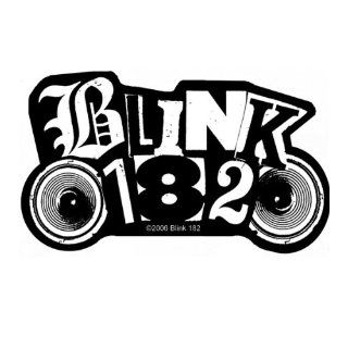 Blink 182   Logo Cut Out [Patch/Aufnäher, Gewebt] [SP2026]