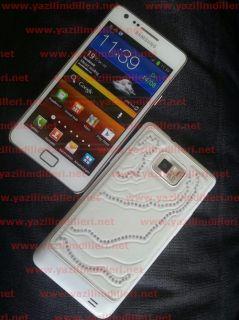 Samsung Galaxy S II GT I9100 Ceramic White Smartphone Crystal Edition