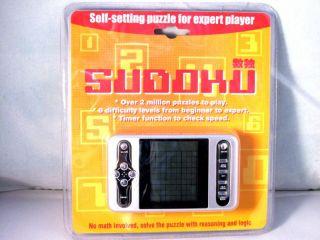 Sudoku portable super Computer Silber Silver Game