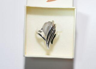 925 Silber   Ring mit Feuerstein aus Polen  Unikat  Kollektion