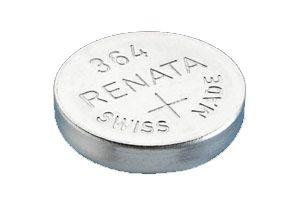 RENATA Knopfzelle 364 SR621SW 602 T 280 34 SB AG/DG