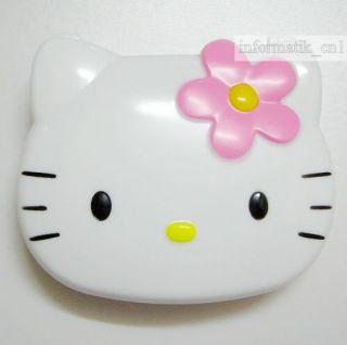 neu Hello Kitty Kontaktlinsen Behälter Spigel Set Weiß